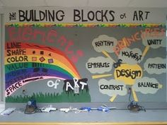 The Building Blocks of Art... Not well excited but fun visual