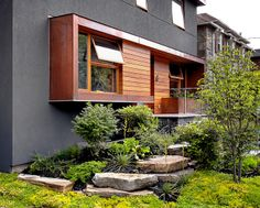 contemporary exterior by Altius Architecture Inc