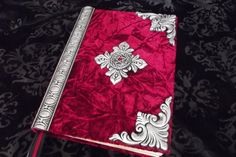 Large Custom Made Spell Book /Journal /Diary/Book of shadows/ Cert # 133