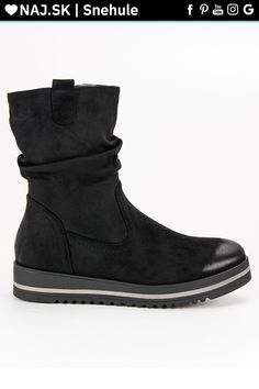 Pohodlné čierne topánky dámske VINCEZA Ugg Boots, Uggs, Wedges, Adidas, Shoes, Fashion, Moda, Zapatos, Shoes Outlet