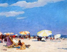 The Athenaeum - Manhattan Beach (Edward Potthast - )