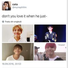 BTS V | YES. WHEN HE DOES THAT SMILE. OMFG
