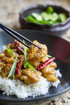An authentic General Tso's Chicken recipe straight from a Chinese native and culinary expert. Skip the sweetened Americanized versions and try the real deal!