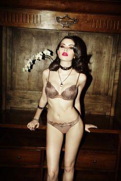Richard Bernardin Lenses Seductive Lingerie for Dress to Kill Summer 2012