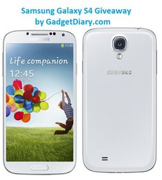 Win a Samsung Galaxy S4 [GiveAway]
