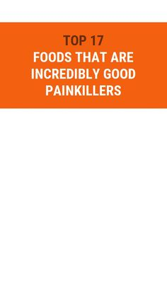 Top 17 Foods That Are Incredibly Good Painkillers Herbal Remedies, Home Remedies, Health Benefits, Health Tips, Health Care, Remedy Spa, Receding Gums, Natural Cold Remedies