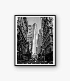 Manhattan Print, New York Print, New York Photo, Manhattan Poster, Skyscraper Print, New York Photography, City Photo, Street Photo ◆ INSTANT DOWNLOAD Please note, this is a digital product, saving you delivery time and shipping costs. No physical product will be shipped. Frame and