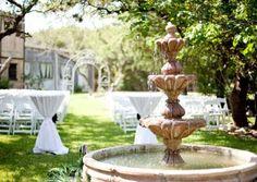 Lovely Outside Wedding