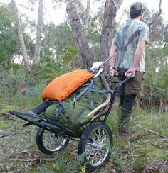hiking pull cart - Google Search