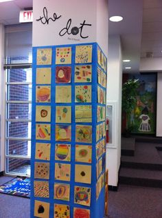 Second Grade Dots based on The Dot by Peter H. Reynolds