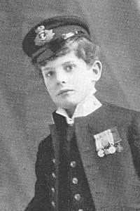 """""""H.M.S. Pinafore,"""" Eric Reimers as Tom Tucker, 1899, DOC revival."""