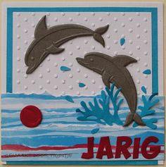 Trijntjes Kaarten: mei 2015 Nautical Cards, Beach Cards, Cardmaking And Papercraft, Shabby, Marianne Design, Kids Cards, Craft Cards, Animal Cards, Cute Cards