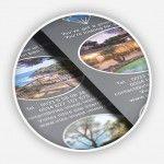 Création et impression flyers trilingues Irles Invest Immo