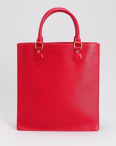 af11a862bf Louis Vuitton LU Epi Sac Plat Tote Bag- Made in France at Modnique.com