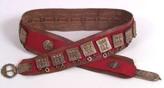 Sami belt from Vadsø, Norway. 1800- early 1900's. Samisk belte fra Vadsø. NFSA.4390D | by saamiblog