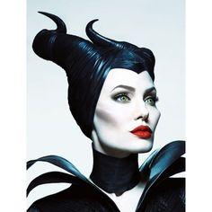 Angelina Jolie's Makeup Artist on Sculpting Cheekbones How to Enhance... ❤ liked on Polyvore featuring disney, maleficent, backgrounds, people and movies