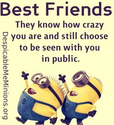 Humor Discover Pin by barbara kramer on minions best friend quotes funny minion pictures Broken Friendship Quotes Friendship Pictures Friendship Status Funny Minion Pictures Funny Minion Memes Minions Quotes Funny Humor Despicable Me Quotes Minion Humor Funny Minion Pictures, Funny Minion Memes, Minions Quotes, Minions Pics, Minions Friends, Funny Humor, Minion Humor, Minions Love, Funny Pics