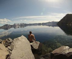 Crater Lake is truly a wonder — Palms to Pines