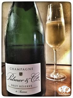 Palmer & Co Brut Reserve Champagne wine review front label cuvee social vignerons