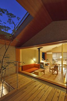 House in Shimoda, designed by Satoshi Irei, Japan, mooi! Japanese Architecture, Architecture Details, Interior Architecture, Japanese Home Decor, Japanese House, Patio Interior, Interior Exterior, Style At Home, Ideas Cabaña