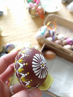 Eastern Eggs, Easter Egg Designs, Diy And Crafts, Wax, Desserts, Spring, Tailgate Desserts, Deserts, Postres