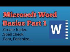 Computer Lessons, Computer Basics, Microsoft Word, Microsoft Office, Word Skills, Hair Cut, Ipad Pro, Spelling, Ms