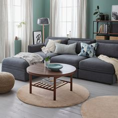 Most Polular Ikea Living Room Furniture Canada Living Room Colors, Living Room Sets, Living Room Decor, Ikea Living Room Furniture, Man 2, Professional Carpet Cleaning, Types Of Flooring, Round Rugs, Sofa Covers