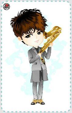 the STAR Magazine #Woohyun fanART