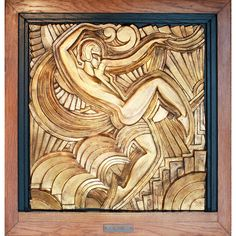 Maurice Picaud (Pico), 1929 - Art Deco - Folies Bergere | From a unique collection of antique and modern wall-mounted sculptures at https://www.1stdibs.com/furniture/wall-decorations/wall-mounted-sculptures/