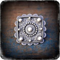 King of the Milagros Ring- A Sterling Silver Finger Festoon by RosyRevolver