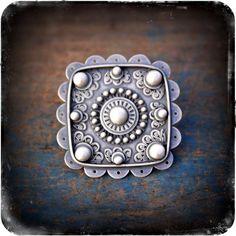 Ring | Rosy Revolver.  Sterling silver