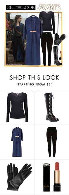 """""""Get the Look: Pride + Prejudice + Zombies"""" by polyvore-editorial ❤ liked on Polyvore featuring Phase Eight, Marina Hoermanseder, River Island, Lanvin, Lancôme, lilyjames, ppzmovie and prideandprejudiceandzombies"""