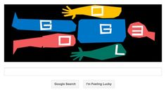"""#SaulBass Google celebrates the 93rd birthday of Saul Bass with one of the search engine's most elaborate """"doodles"""" yet – an animated sequence based on his designs for film title credits, film posters and corporate logos. Saul Bass was born on 8th May 1920 in the Bronx, and died in Los Angeles in 1995 aged 75. Click the link to view the animated Google Doodle  http://www.youtube.com/watch?  feature=player_embedded=bV-7-miaRDU.  # Saul Bass"""