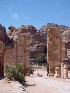 The lost city of Petra. I want to visit here soooo bad!