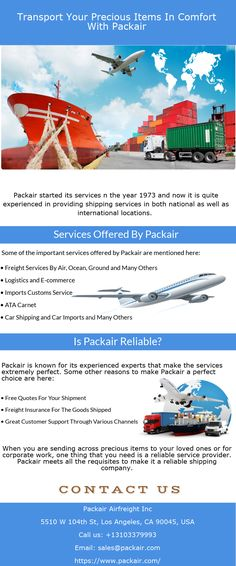 Transport of goods from one location to another can be for both personal as well as professional purposes. Whatever is the case, getting the services of the best shipping company is what needed.