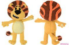 Free knitting pattern: Raa Raa The Noisy Lion