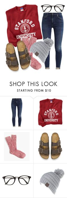 """""""cozy day"""" by jiggle207 on Polyvore featuring Birkenstock"""