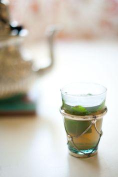 Tea glass Moroccan style - lovely pic by Briana Morison on @Fun and FlirTea's tea blog