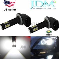 JDM ASTAR 50W CREE LED Super Bright White 881 Bulb Car Daytime Running Fog Light #JDMASTAR