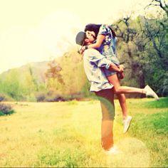 Summer love. Cute couple.