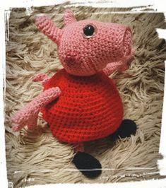 Pysenpigens hobby-hjørne: Søgeresultater for Gurli gris Crochet Toys, Crochet Baby, Knit Crochet, Mobiles, Peppa Pig, Baby Knitting, Tweety, Hobbit, Diy And Crafts