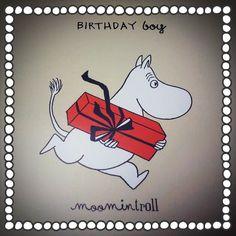 Moomin Birthday Boy