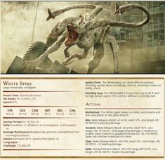 Dungeons And Dragons Homebrew, D&d Dungeons And Dragons, Dark Dungeons, Fantasy Creatures, Mythical Creatures, Dnd Stats, Dungeon Master's Guide, Monster Drawing, Dnd 5e Homebrew