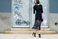 10 Fresh New Ways to Wear the Midi Skirt for Spring
