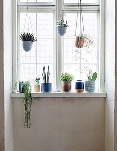 hanging ceramic planters from bloomingville / sfgirlbybay