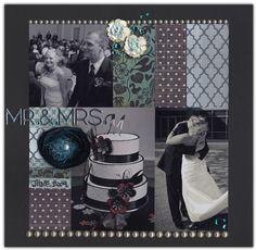 Mr. & Mrs. - Scrapbook.com