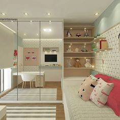 Um quarto dos sonhos! Para uma princesa. #criarinteriores #designdecor #decoreinteriores #quarto #bedroom #kids #girl #menina #lovedecor #lovedesign #love #beautiful #designdeinteriores #cool #lindo #design #arquitectura #arquitetura #arquiteturadeinteriores #bedroomkids