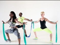 TOTAL BODY RESISTANCE BANDS WORKOUT - YouTube