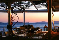 Where Shirley Valentine was filmed and delicious dishes are waiting for you at Hippie Fish (formerly Sunset Taverna) in Mykonos. We are celebrating a special evening here on the Shirley Valentine Tour.