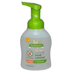 BabyGanics Alcohol-free Foaming Hand Sanitizer 8.45-ounce -